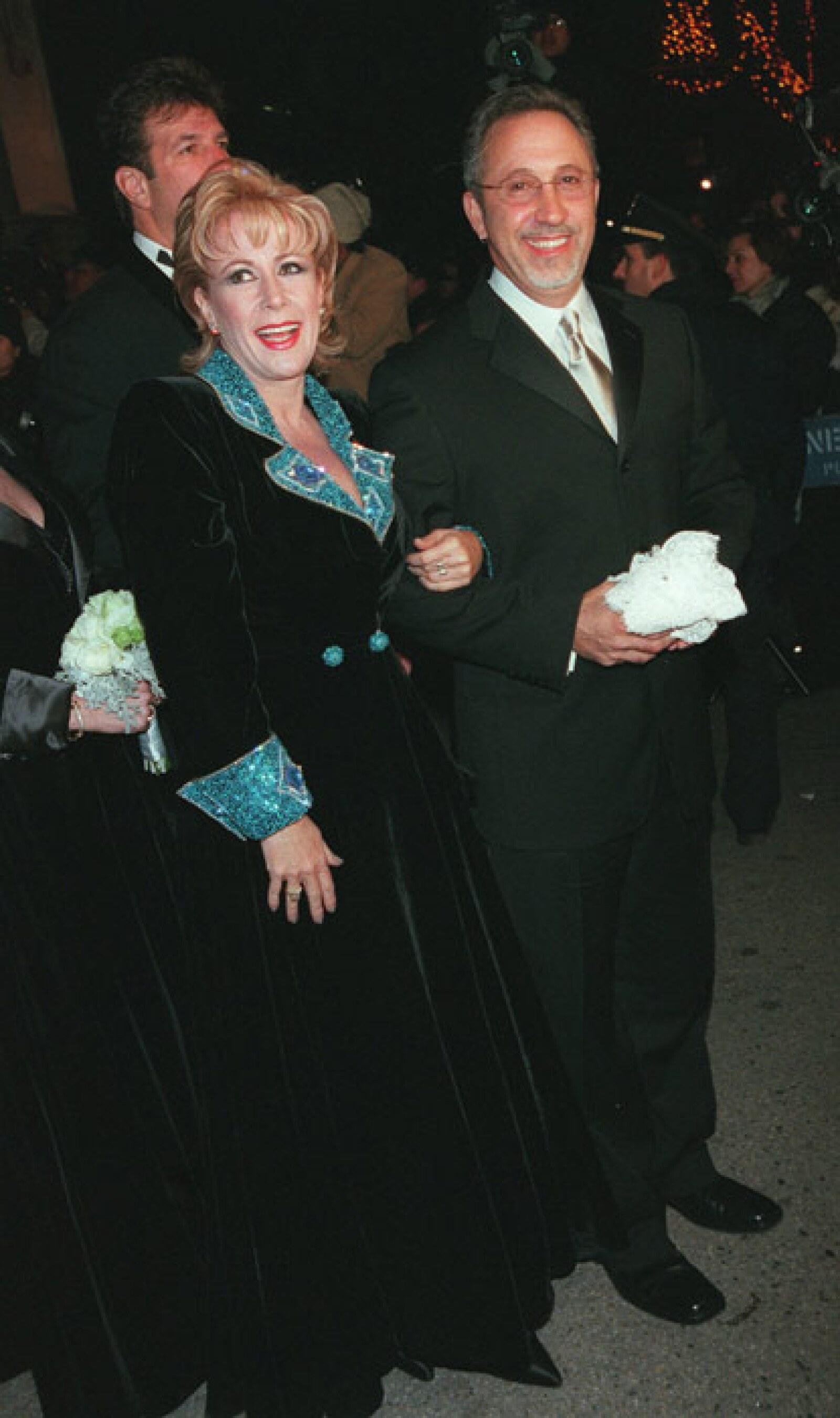 5420bbf85 Recordando la boda de Thalía y Tommy Mottola