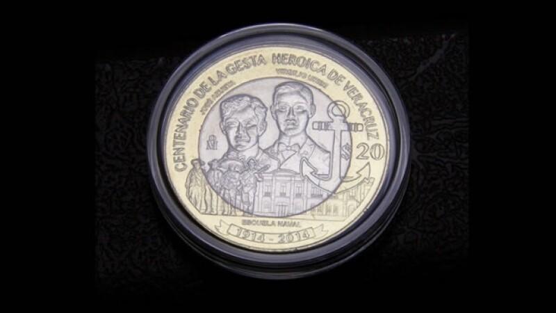 Nueva moneda 20 pesos Banxico