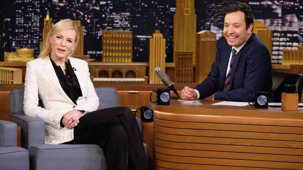 The Tonight Show Starring Jimmy Fallon, Cate Blanchett