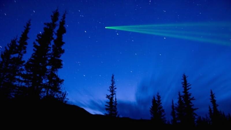 imagen de cometa en el cielo