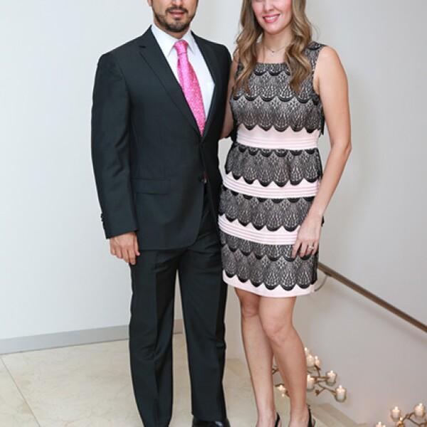 Carlos Gonzalez y Alejandra Barragan