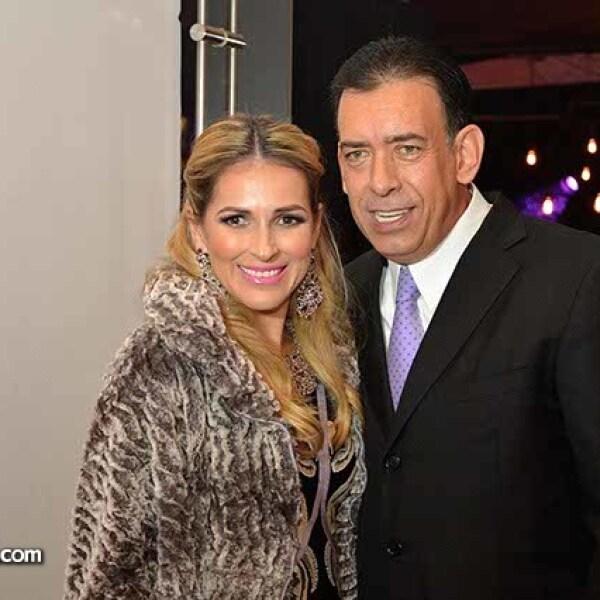 Vanessa y Humberto Moreira.