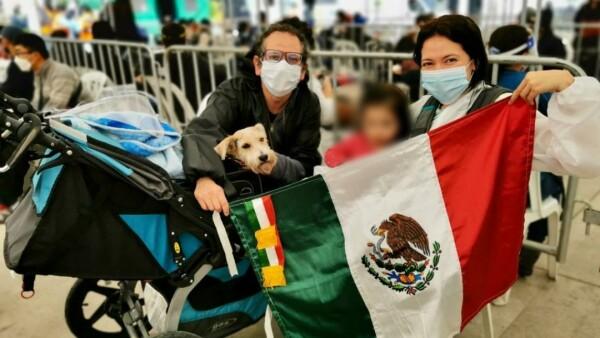 Mexicanos repatriados COVID