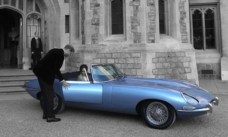 Meghan-Markle-Principe-Harry-Jaguar-Electrico