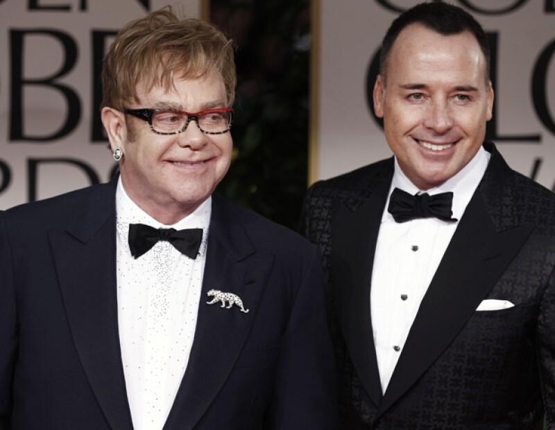 A sus 58 años Elton encontró al amor de su vida al lado de David Furnish.