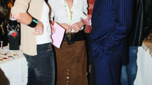 Gaby Garza, Lina Botero, Fernando Senderos