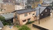 Japón continúa buscando sobrevivientes tras las inundaciones