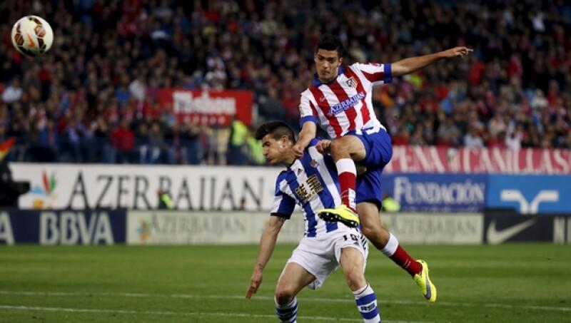 Raúl Jiménez Atlético Real Sociedad