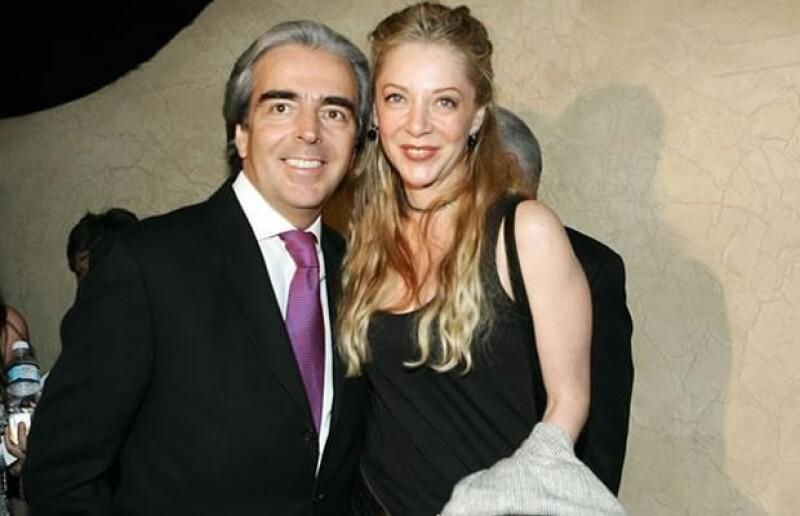 Lorenzo y Edith en el Teatro Libanés.