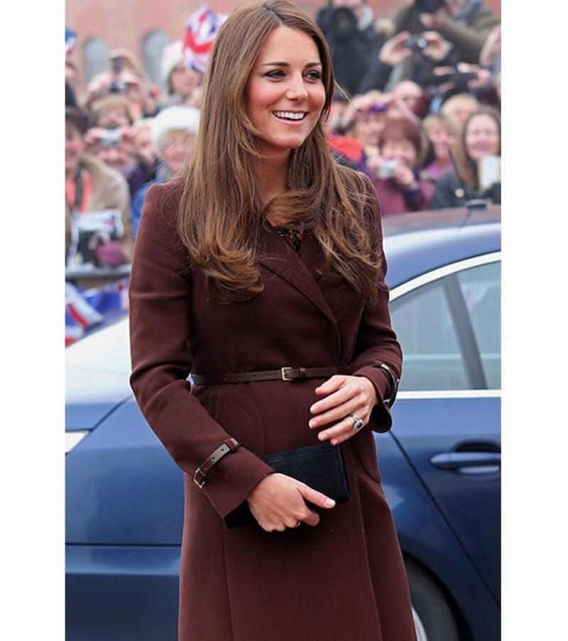 Kate ha sabido mantenerse saludable durante su embarazo.