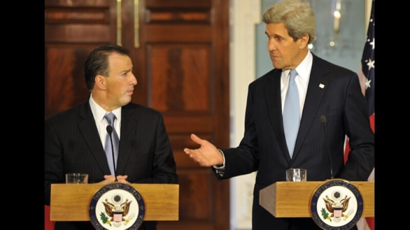 Jose Antonio Meade John Kerry 18 abril 2013
