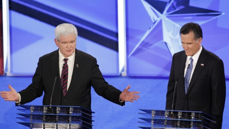 debate republicanos gingrich romney