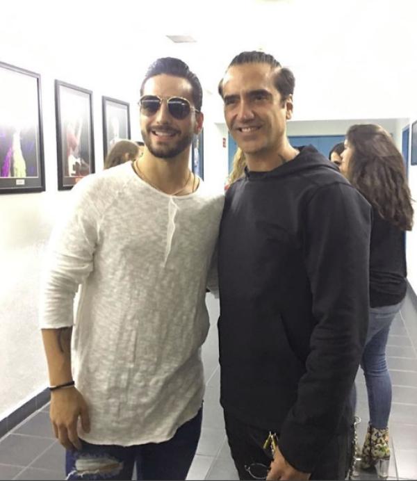 Alejandro Fernandez y Maluma