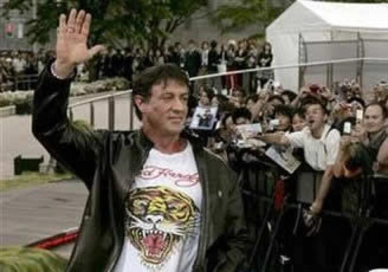 En su personaje de Rambo, Sylvester Stallone enfrentará a mafias de la droga que operan en la frontera con EU. (Foto: Reuters)