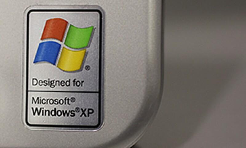 Windows XP tiene el segundo lugar dentro del mercado mundial, con 27.2% de participación. (Foto: AP)