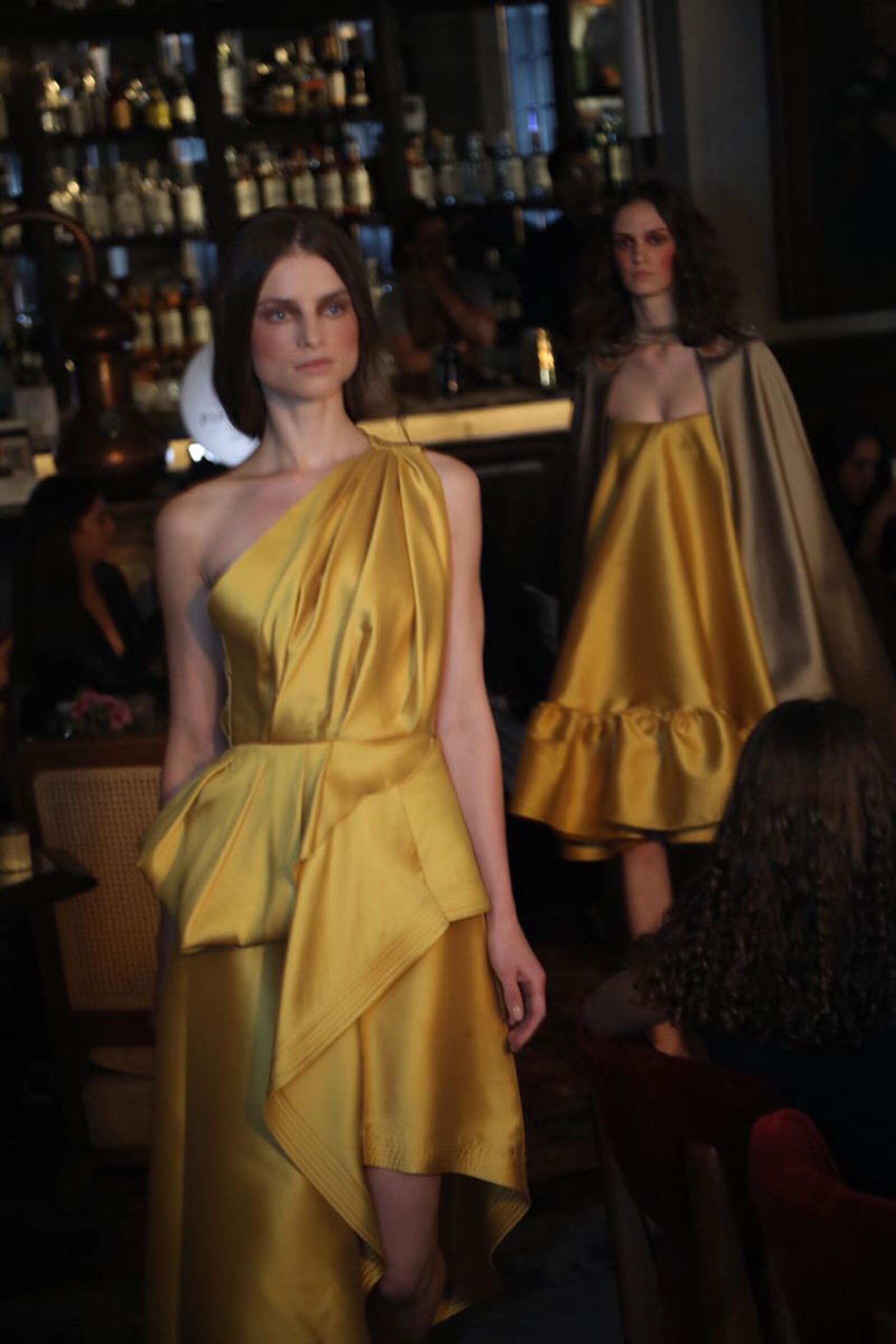 Sandra-Weil-MBFWM-Runway-Yellow-Dress-look