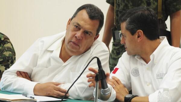 Peña Nieto Angel Aguirre