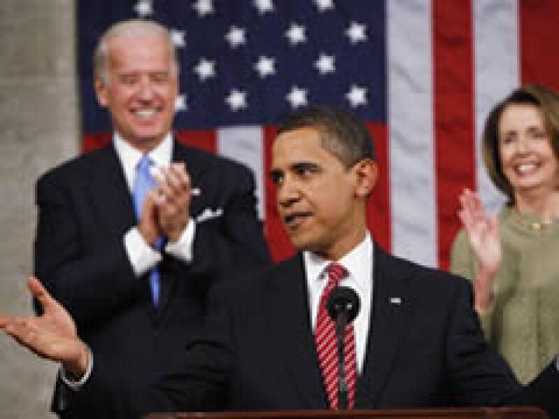 Obama ofreció su primer discurso como presidente en el Congreso estadounidense. (Foto: Reuters)