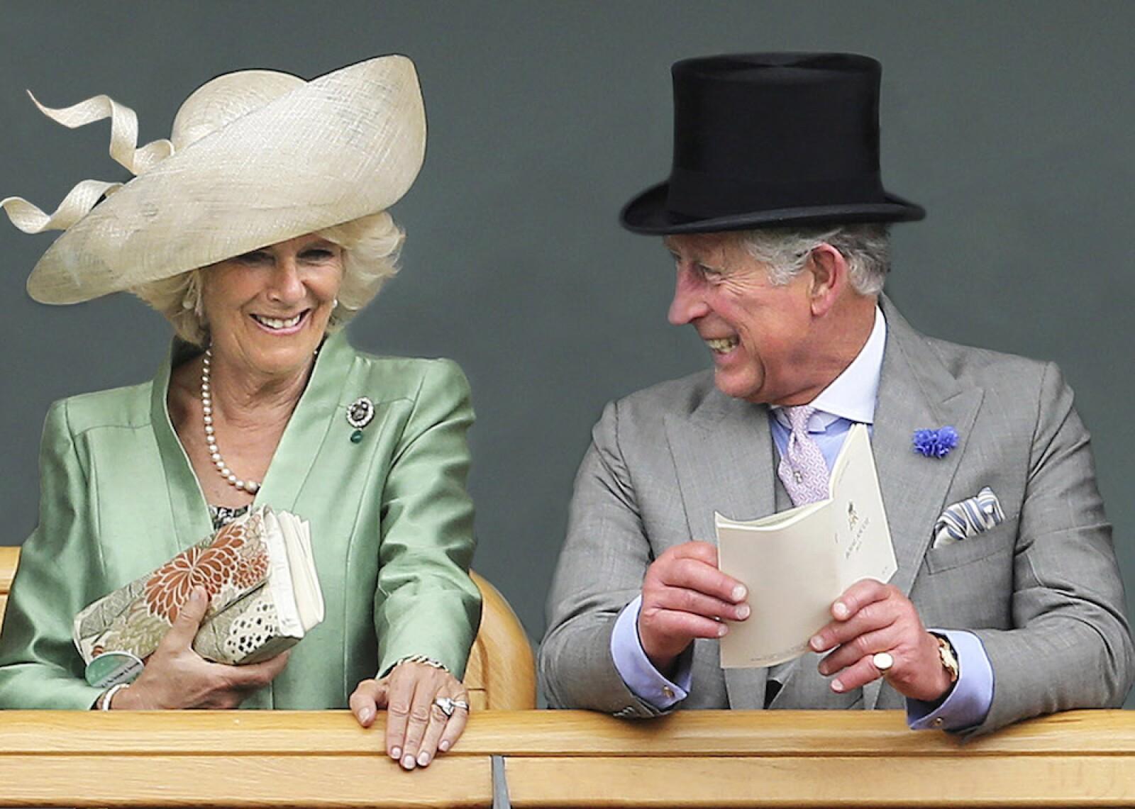 Royal Christmas Card - Prince Charles, Prince of Wales and Camilla, Duchess of Cornwall