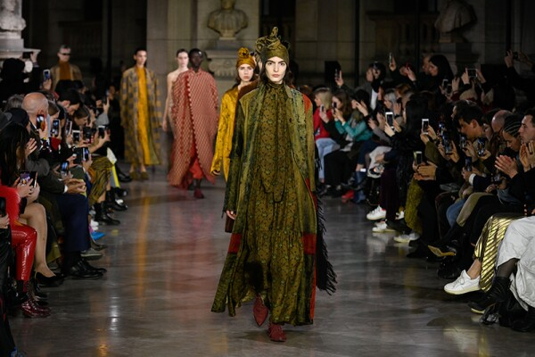 Uma Wang show, Runway, Fall Winter 2019, Paris Fashion Week, France - 28 Feb 2019