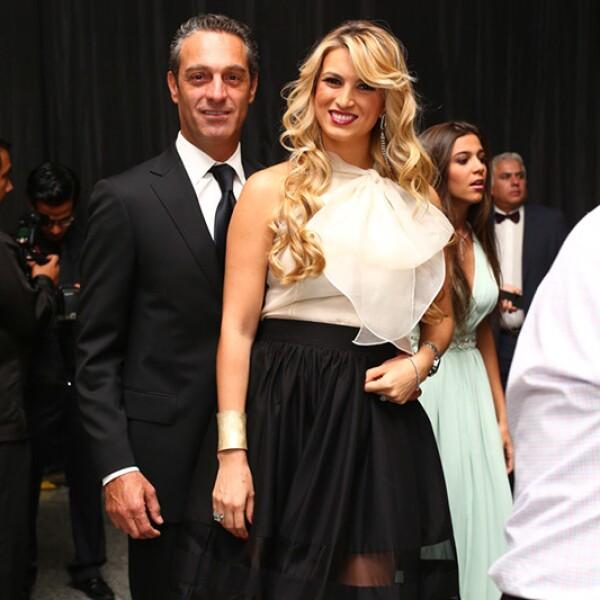 Carlos Slim y María Elena Torruco