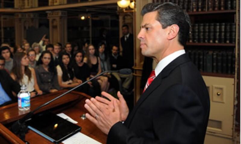 Enrique Peña Nieto se reunirá con Klaus Schwab, fundador del WEF.   (Foto: Cortesía Enrique Peña)