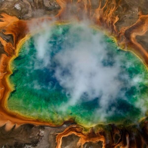Gran Fuente Prismática, Parque Nacional Yellowstone, Wyoming