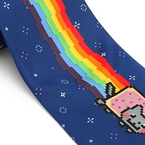corbata Nyan Cat tie