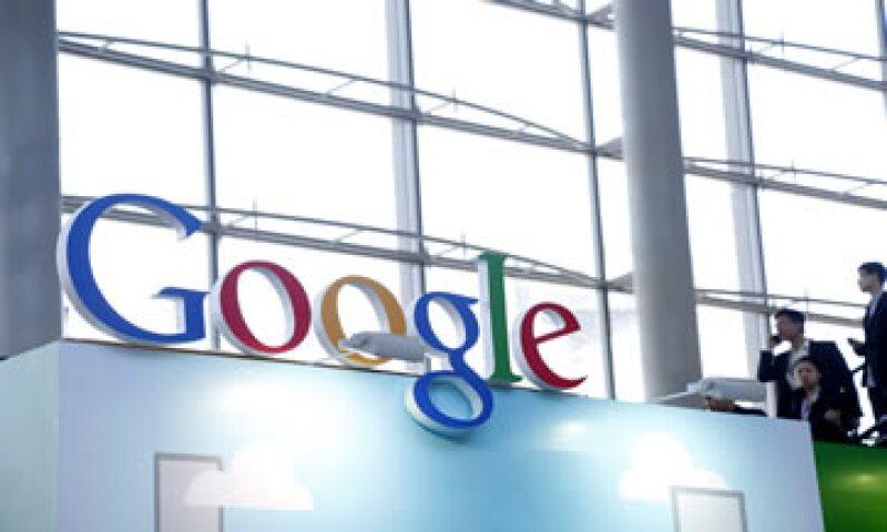Las ventas de Google aumentaron 20% en el tercer trimestre del año. (Foto: AFP )