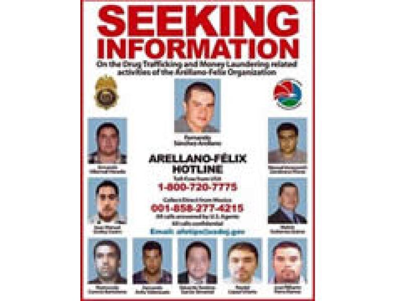 Fernando Sánchez Arellano fue identificado por la DEA como un jefe del cartel Arellano Félix. (Foto: AP)