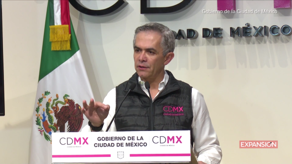 Miguel Ángel Mancera anuncia plan para la reconstrucción y recuperación de CDMX