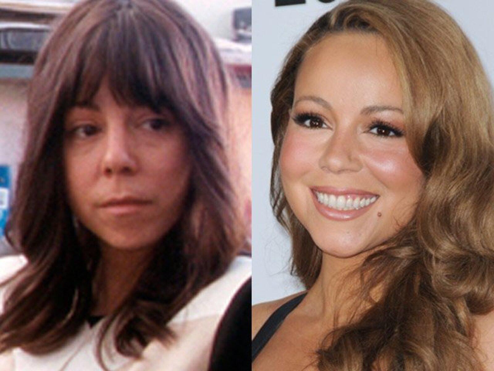 Aunque Mariah Carey optó por quitarse la pintura de la cara para la película Precious la realidad es que se ve mucho mejor maquillada.