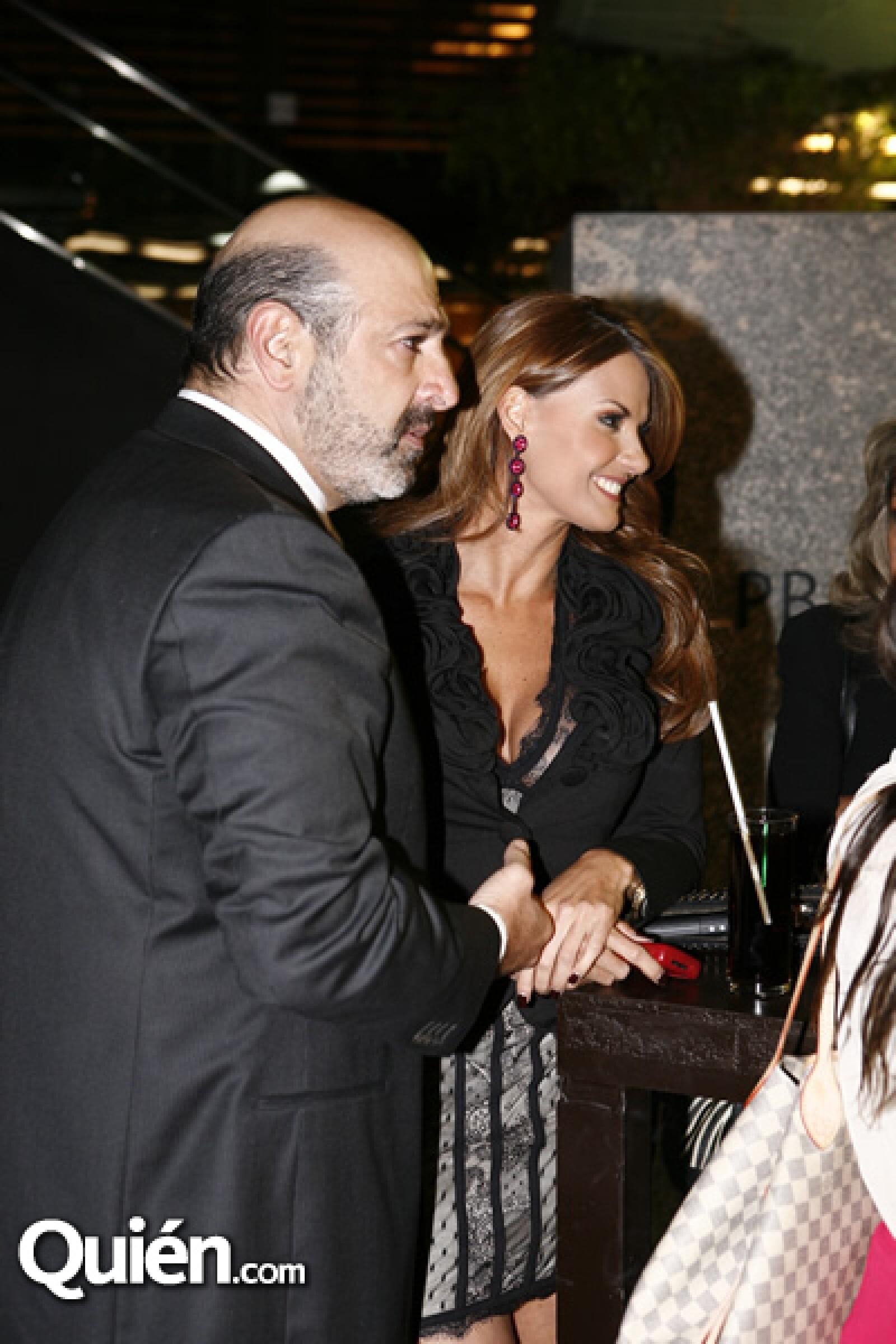 Michel Kuri y Maritere Alessandri