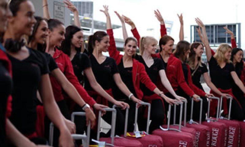 Las bailarinas tienen previsto también una visita este miércoles a la Estatua de la Libertad (Foto: AFP )