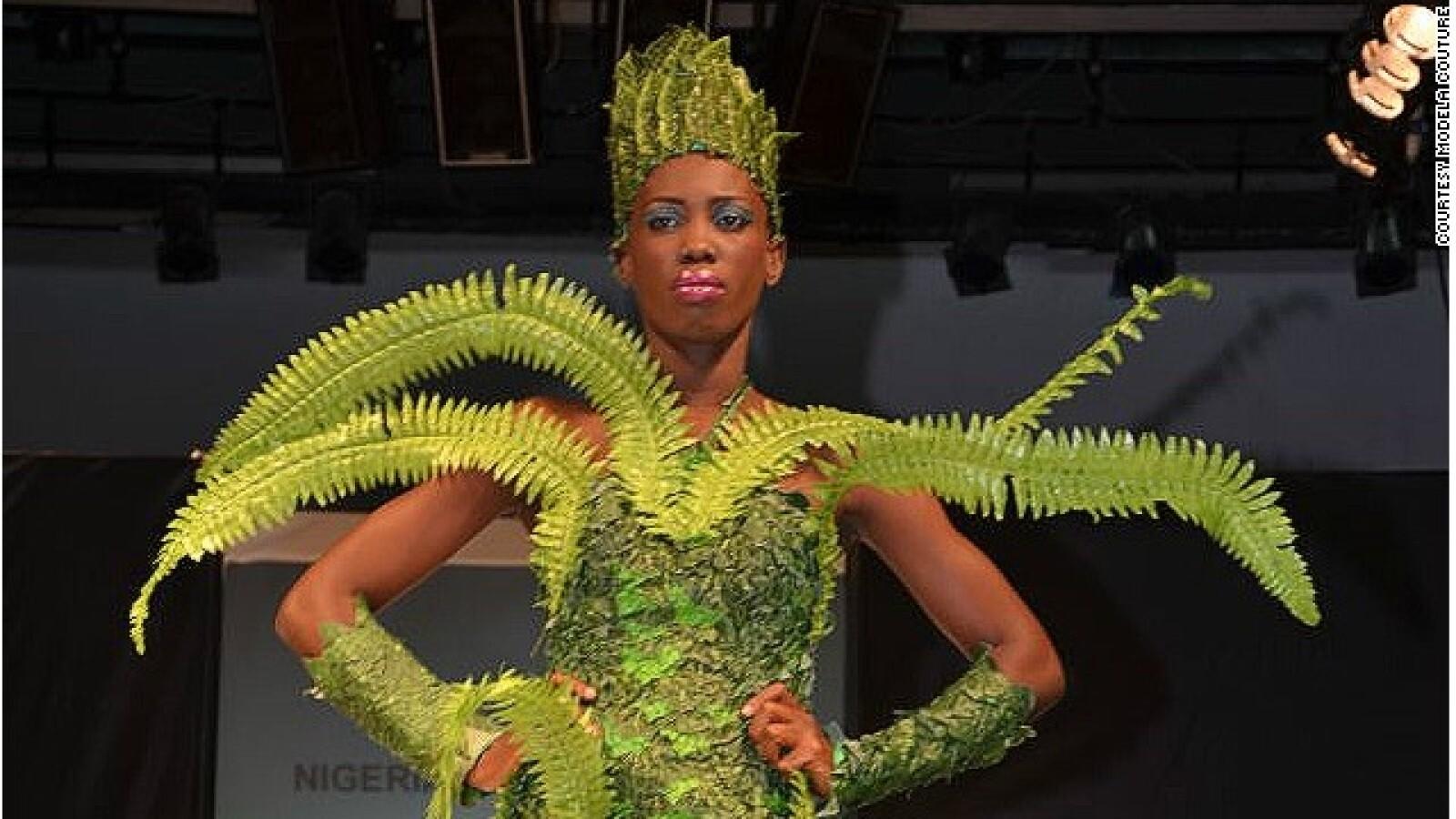 semana de la moda en Nigeria