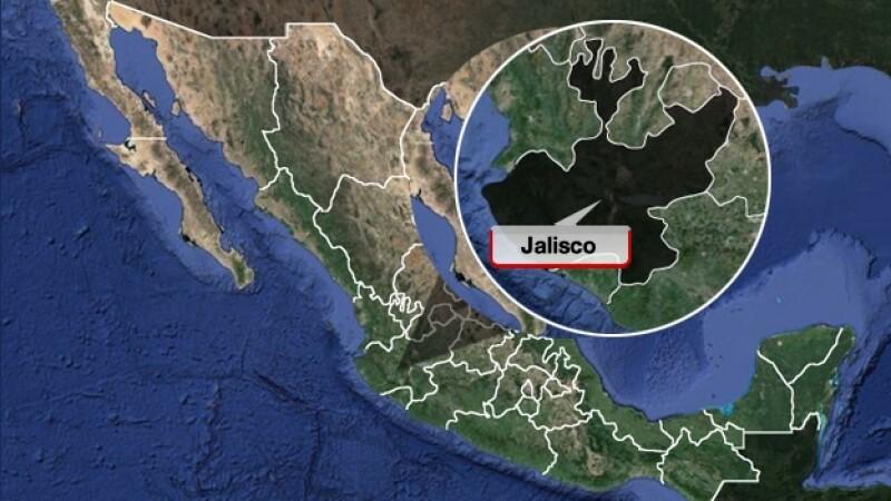 jalisco, mapa