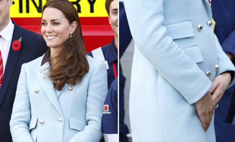 El azul pastel es uno de los colores favoritos de Kate.