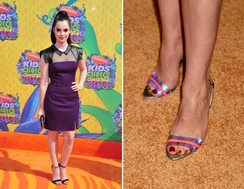 Los detalles en zapatos pueden ser un acierto, pero si quieres un total look, también es válido.