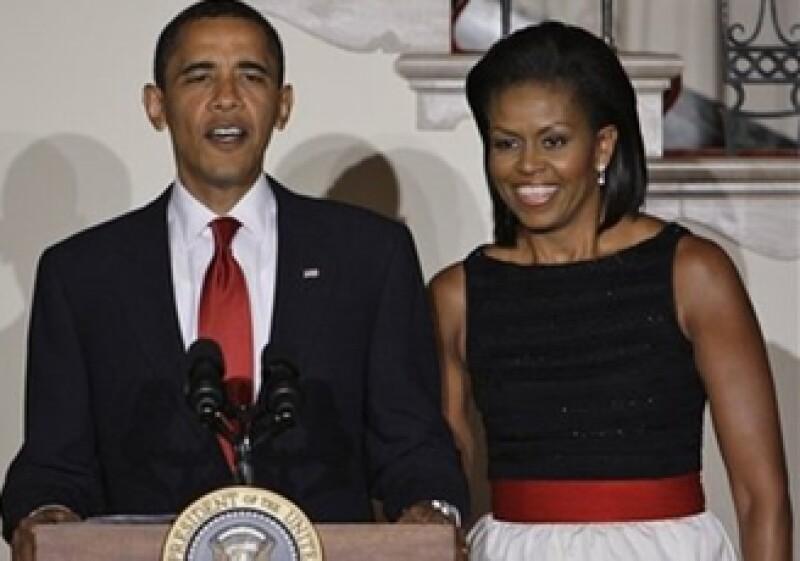 La pareja presidencial de Estados Unidos se incorporó a la lista de la elegancia de Vanity Fair en 2009.  (Foto: AP)