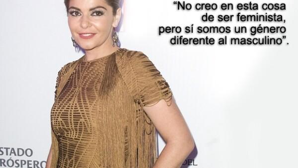 La actriz habló con Quién.com sobre de su próxima incursión en el séptimo arte como productora de un cortometraje, de sus ganas de crear una fundación en pro de los niños.