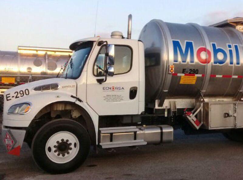 pipa de Exxon Mobil en M�xico