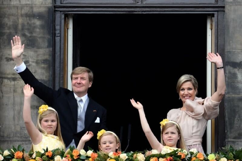 La Casa Real Oranje-Nassau de los Países Bajos.