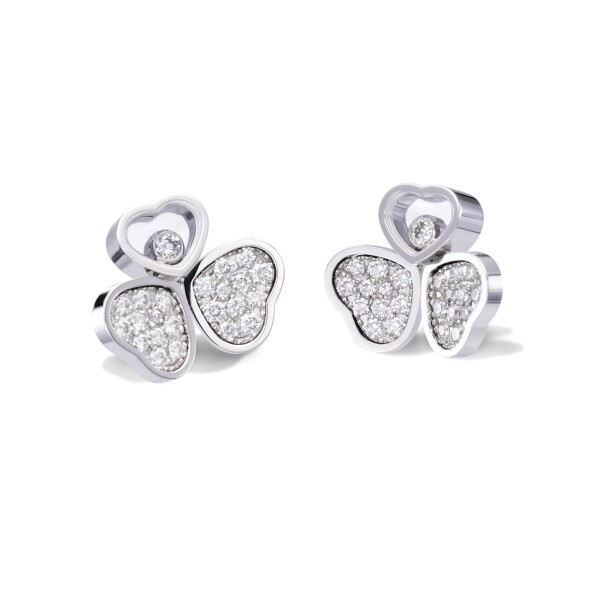 Pendientes Happy Hearts Wings, CHOPARD