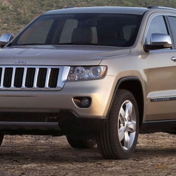 La Jeep Grand Cherokee 2011 llega al mercado mexicano para competir con marcas como Audi, Mercedes Benz y BMW