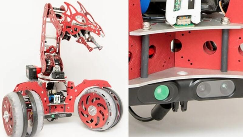 snapdragon rover robots