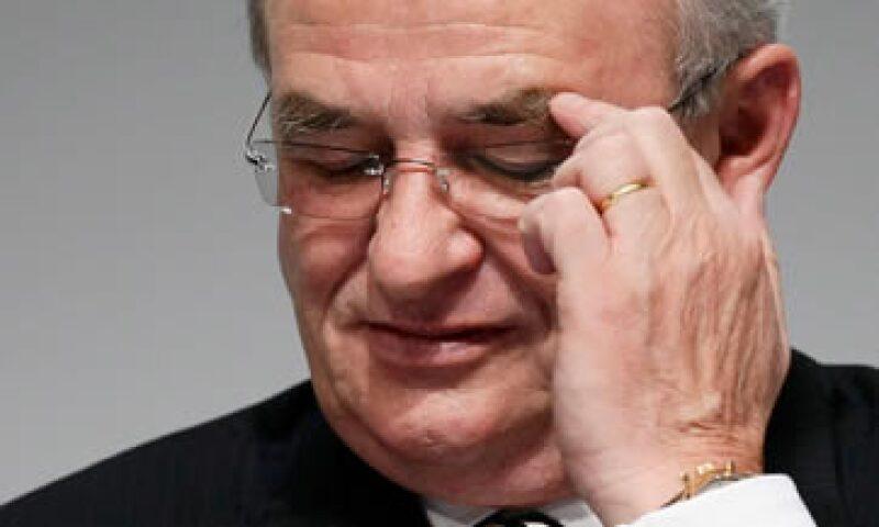 Martin Winterkorn tomó responsabilidad en el escándalo. (Foto: Reuters)