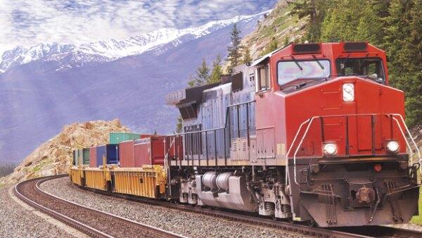 El ferrocarril integra las aglomeraciones de la población y actividad económica.