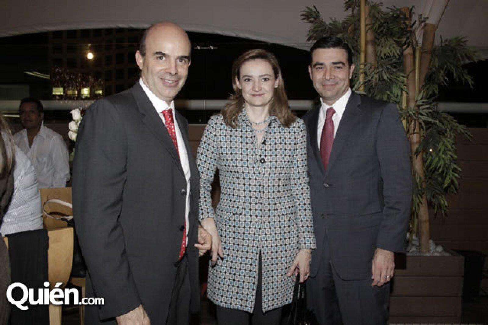 Ignacio Zorrilla, Rosa Elena y José Antonio Alonso