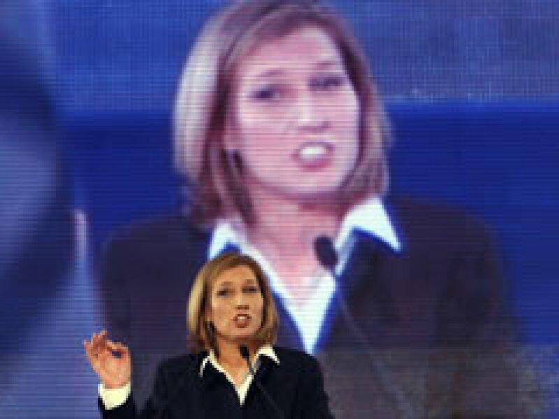 La canciller Tzipi Livni, de Kadima, se dijo ganadora de la elección. (Foto: Reuters)