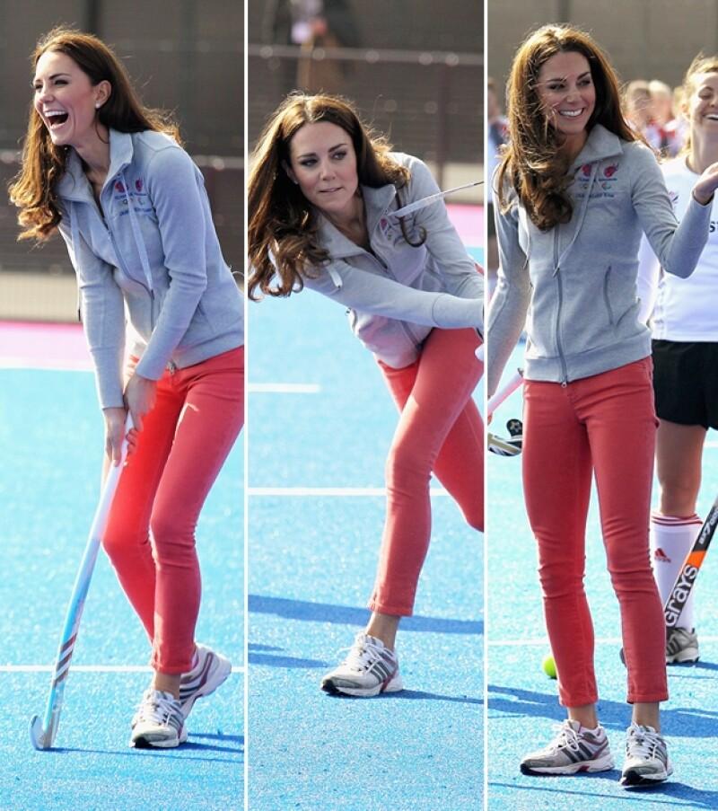 La Duquesa mostró sus mejores movimientos.